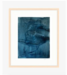 MADE BY: Martha Oakes Designs SHIPS FROM: San Francisco, California DETAILS: The deep blue and fluid composition of the painting reminds us of looking into the Original Artwork, Original Paintings, All Print, Custom Framing, Fine Art Paper, Giclee Print, Indigo, Oriental, Hand Painted