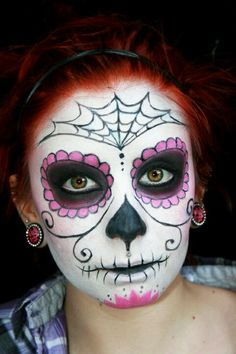 Day of the Dead makeup idea