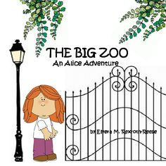 THE BIG ZOO An Alice Adventure | Front Cover