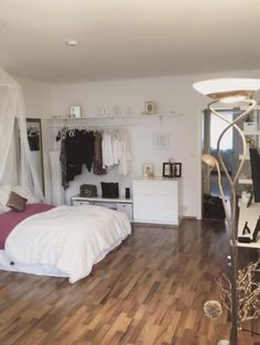 1 zimmer wohnung einrichten im skandinavischen stil room decoration pinterest. Black Bedroom Furniture Sets. Home Design Ideas