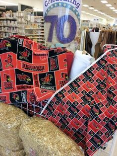 Get crafty: Illinois State Redbird fleece and cotton fabrics are now available at Jo-Ann Fabric and Craft Stores in Bloomington, Champaign, Decatur, Peoria, and Springfield, plus several Chicago locations: http://www.joann.com/licensed-ncaa-fleece-illinois-state-/zprd_12542197a