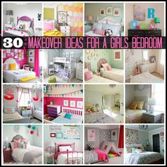 30 Girls Bedroom Makeover Ideas - Becoming Martha