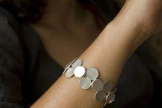 Punto; Armband Silber