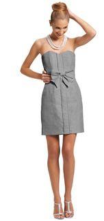 Grey Bridesmaid Dresses   Weddington Way