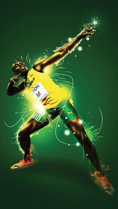 Usain Bolt, I wonder if he uses herbalife??