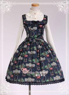 New Arrival: Magic Tea Party **London Elements** JSK >>> http://www.my-lolita-dress.com/magic-tea-party-london-elements-jumper-dress-lolita-ma-88 [Only $49.99]