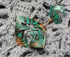 metalwork shawl pin
