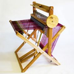 SAORI loom. free-style weaving for all.