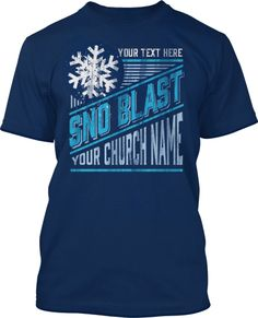 Snow Blast Winter Trip: A favorite design among youth groups there are lots of color combinations that really look fantastic.  Snow Blast Winter Trip T-Shirt Design #559