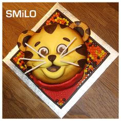 Tiger's Dora cake