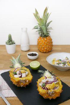 Connaissez-vous le ceviche ? C'est une spécialité du Pérou quiconsiste généralement en un fruit de mer mariné dans du jus de citron vert et c'est l'acidité du jus de citron qui «cuit» le fruit de mer.Cette recette de ceviche péruvien de poisson est préparée à base de poisson frais (dorade), de citron vert, d'oignons, de […]