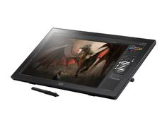 Monoprice 22 Pen-Display Tablet - best tablets for artists Art Tablet, Drawing Tablet, Free Pen, Mac Os, Linux, Display, Drawings, Dream Studio, Graphics