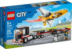 Lego City, Boutique Lego, Building Sets For Kids, Shop Lego, Physical Skills, Free Lego, All Lego, Lego Models, Transporter