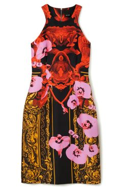 Orchid Frame Racer Front Dress by Josh Goot for Preorder on Moda Operandi