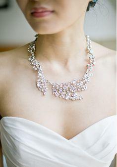 fashion, statement necklaces, bridal dresses, accessori, harwel, beach weddings, atlanta, jewelri, gorg necklac