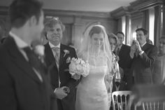 An emotional moment for the Father of the bride