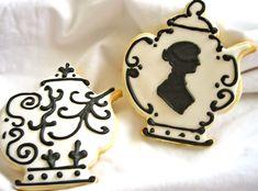 Jane Austen Teapot Cookies
