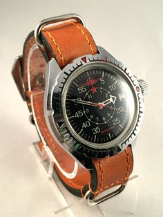 Your place to buy and sell all things handmade Vostok Watch, Military Men, Mechanical Watch, Watch Brands, Stainless Steel Case, Air Force, Watches For Men, Gadgets, Track