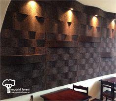 1000 images about corcho suelos paredes on pinterest - Revestimiento de corcho ...