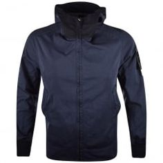 Stone Island Navy David Jersey-TC Jacket. Available now at www.brother2brother.co.uk