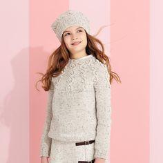Cappello e maglione, occorrente