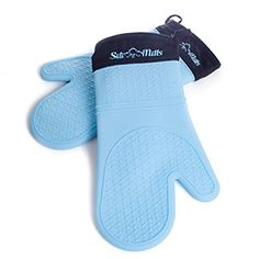 For protecting your arms from any kind of harm while using oven, you must wear Silicone Oven Glove. To buy this product, reach out http://www.amazon.com/Sili-Mitts-Blue-Silicone-Oven/dp/B00J5M55SG/.