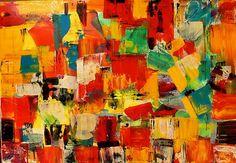 Farebný svet www.abstraktneobrazy.sk