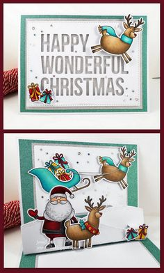 Merry Everything stamp set and Die-namics and Happy Wonderful Christmas Die-namics - Jenny Dix #mftstamps