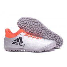 new products 87093 4602d Adidas X 16.3 TF Hommes Bottes de Football Argent Orange Noir achat en  ligne Chaussure De