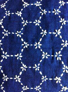 Gorgeous sashiko stitching
