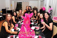 Girls Only: a Little Black Dress Dinner Party (ou a Festa do Pretinho Básico)by Fête à Fête