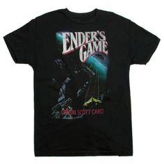 Enders Game mens literary t-shirt | Outofprintclothing.com