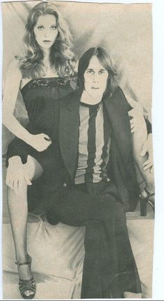 Bebe Buell with Todd Rundgren, (Liv Tyler's mom and biological father, IMO).