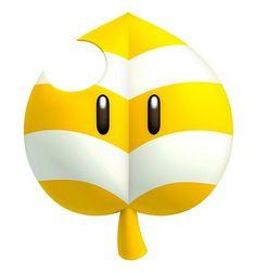 Gelbe blatt von new super mario bros 2 New Super Mario Bros, Super Mario 3d, Super Mario World, Super Mario Brothers, Super Smash Bros, Nintendo World, Nintendo 3ds, Nintendo Switch, Hama Beads Minecraft