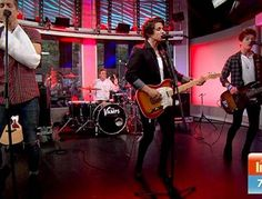The Vamps performing STY on Sunrise 22/01/15