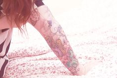 #tattoo #girl #girly #mylittlepony #cupcake #clouds