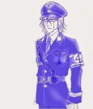 #4, #Arrancar, #Bleach, #Cerezo, #Espada, #Hat, #Hollow, #Military, #MilitaryUniform, #Nazi, #UlquiorraCifer, #UlquiorraSchiffer, #Uniform