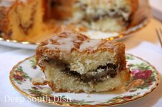 Homemade from scratch Sour Cream Coffeecake, a dense and rich, great tasting cake that is at its peak flavor when served the next day, once the sugars and flavors have settled a bit. Make it ahead whenever you can!