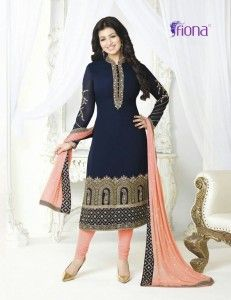 Fiona Ayesha Takia Vol-8 Georgette collection (12 pc set)