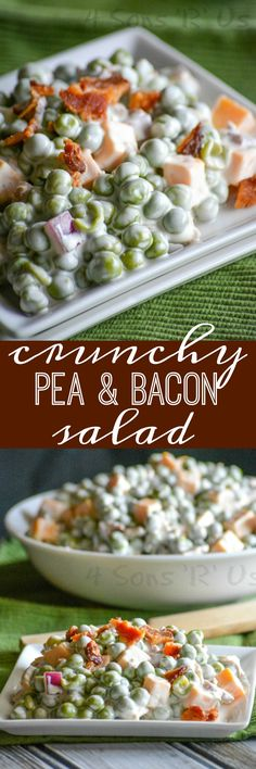 A creamy side salad, this Crunchy Pea & Bacon Salad features cubed cheddar, green peas, and crisp pieces of bacon in a savory sauce. It's is a shoe-in for favorite side dish at your next gathering. Spring has sprung. Or so we thought here in the good Old Dominion, but[Read more]