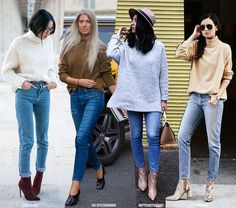 How to Wear Jeans & Sweaters