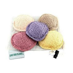 Love The Planet Coloured Washable Cleansing Pads