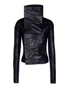 Chaqueta De Piel Rick Owens Mujer - thecorner.com - The luxury online boutique devoted to creating distinctive style