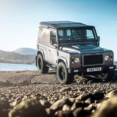 Land Rover Defender 90 Td4 hard top.  Icon