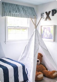 how to make diy farmhouse window awnings, these rustic window treatments look beautiful and add that perfect fixer upper style to any room Farmhouse Windows, Classic Office Furniture, Rustic Furniture, Nursery Window Treatments, Rustic Window Treatments, Window Awnings, Diy Decor, Window Treatments Bedroom, Metal Awnings For Windows