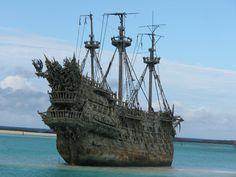 Black Pearl Pirate Ship | De Flying duchtman Kapitein william turner