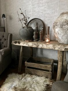 25 Fabulous Rustic Lighting Ideas to Give Your Home a Lovely Vintage Look - The Trending House Home Decor Inspiration, Room Decor, Decor, Decor Inspiration, Rustic Interiors, Interior Design Living Room, Interior, Rustic Decor, Home Decor