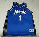 For Sale - VTG 90S CHAMPION NBA BLANK BACK #1 CUSTOM ORLANDO MAGIC NBA JERSEY Size 48 Penny - See More At http://sprtz.us/MagicEBay
