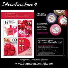 In This #Avon Brochure, Valentine's Day Special! From alluring looks to sexy scents,dessert dazzlers to perfect pamperers, we've got all the ways to wow, but mostly to induldge your own heart's desire. There's enough love here to go around...and around. | #ShopAOB @ www.youravon.com/gkuper