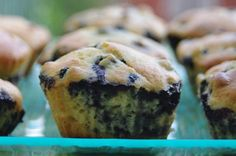 Lemon-Blueberry Muffins - made for Wind and Oar Boat School 10/5/13 launch party.